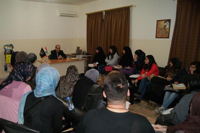 الإمداد تستقبل جمعاً من طلاب كلية الصحة في الجامعة اللبنانية